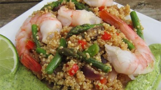 Photo of Shrimp and Quinoa by BLUESP