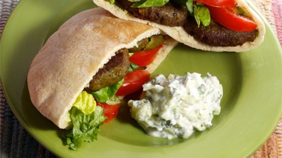 Photo of Chickpea Falafel Burgers by Jojo Pinko