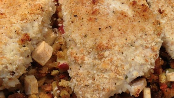Photo of Baked Chicken with Apple Stuffing by SCOTTBMA72