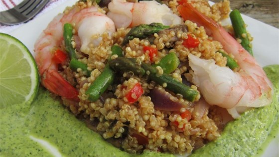 Shrimp Quinoa