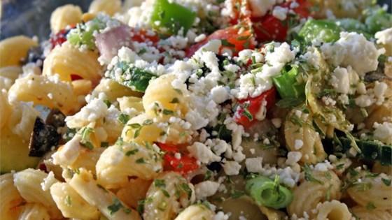 Photo of Greek Pasta Salad by Danielle Laroche