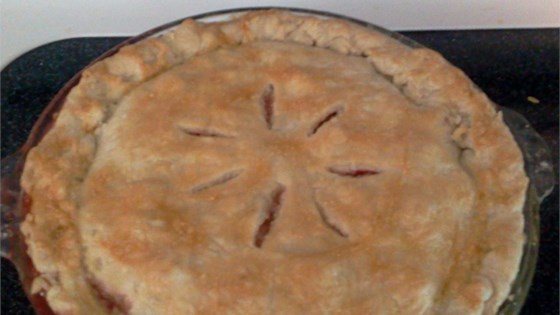 Photo of Nicki's Summer Strawberry Rhubarb Pie by Nicki