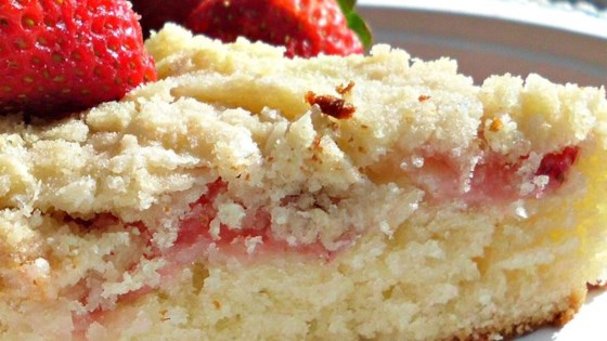 Photo of Fresh Strawberry Coffee Cake by Sue Walker