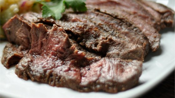 Photo of Citrus-Ginger Flat Iron Steak by bjalg