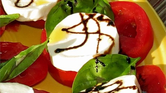 Photo of Caprese Salad with Balsamic Reduction by stefychefy
