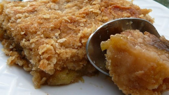Photo of Glenn's Rhubarb Crumble by J. Glenn Kunzler