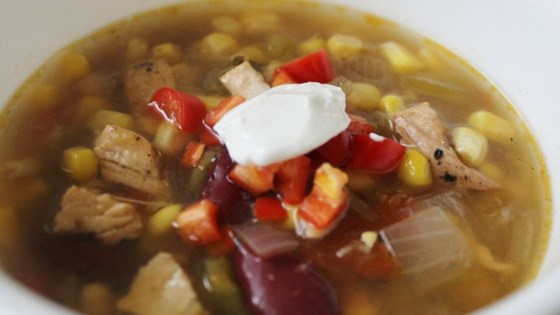 Photo of Southwest Black Bean Chicken Soup by Beth