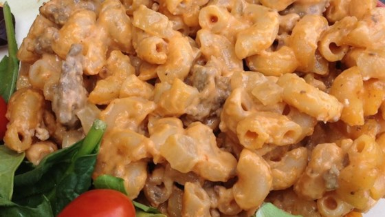 Cheese and Hamburger Macaroni Recipe