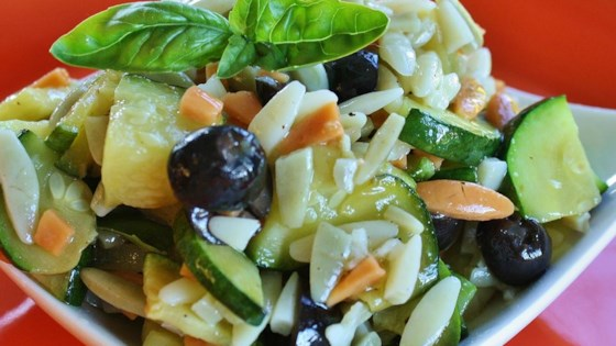 Photo of Orzo and Zucchini Salad by CALISPICEGIRL