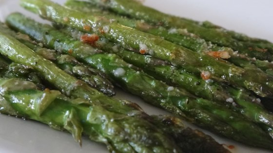 Photo of Roasted Asparagus with Parmesan by Diane