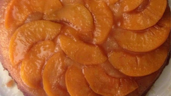 Photo of Peach Upside Down Cake II by Judy Wilson