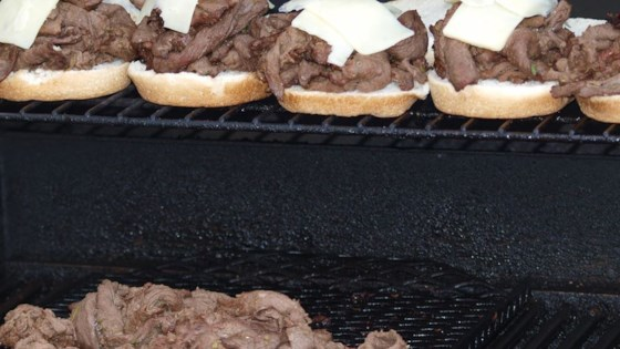 Photo of Grilled Venison Scape Sandwich by wldbear