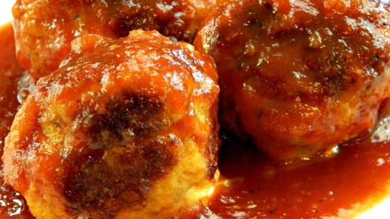 Photo of Homemade BBQ Meatballs by Liane Carmen
