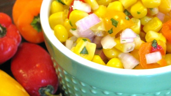 Photo of Easy Corn Salsa by Jeannine Maxwell
