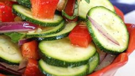 Photo of Baby Zucchini Salad by Lizbeth