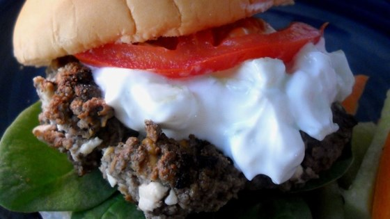 Photo of Greek Hamburgers by Cathy Gauthier
