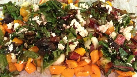 Photo of Roasted Swiss Chard with Feta by XANDISMOM
