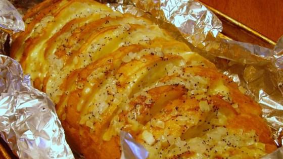 Cheesy BBQ Bread