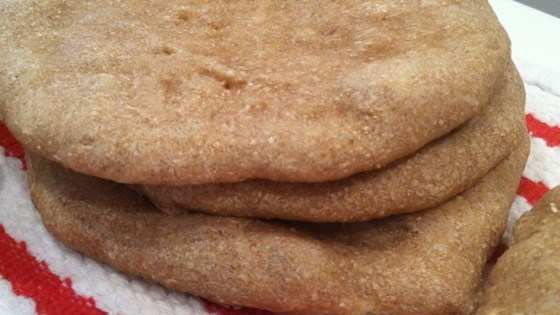Photo of Whole Wheat Pita Bread by Charlotte's Mom