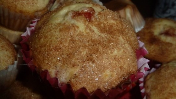 Photo of Freshly Fresh Strawberry Muffins by sal
