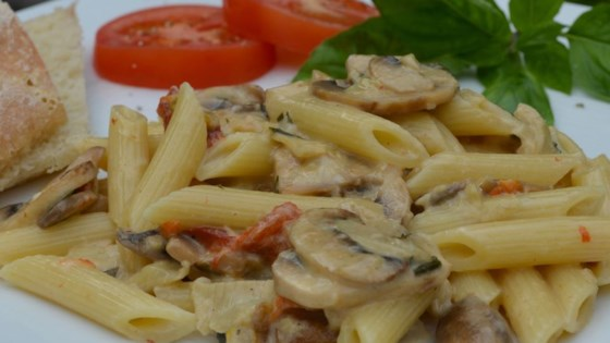 Photo of Artichoke and Roasted Red Pepper Pasta by almraz