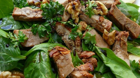 Photo of Pork, Pear and Walnut Salad by mwmaleski