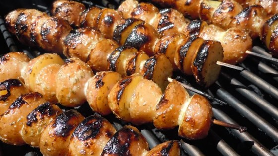 Photo of Skewered Grilled Potatoes by kimberlyj