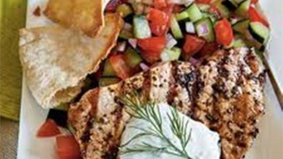 Big Ray's Greek Grilled Catfish Recipe