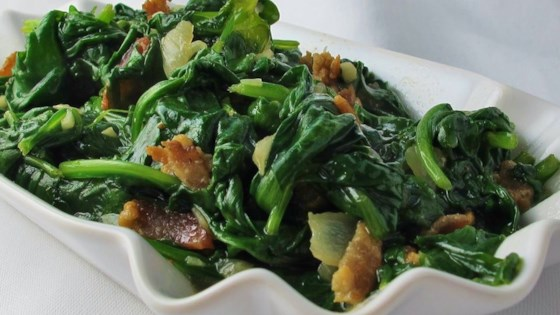Photo of Pan Fried Spinach by RUSTY5
