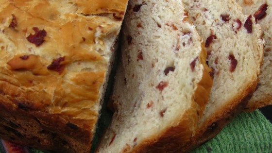 Photo of Cranberry Orange Bread (For Bread Machine) by MyVintageModern