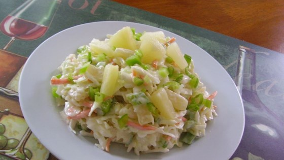 Photo of Pineapple Slaw by Harmony