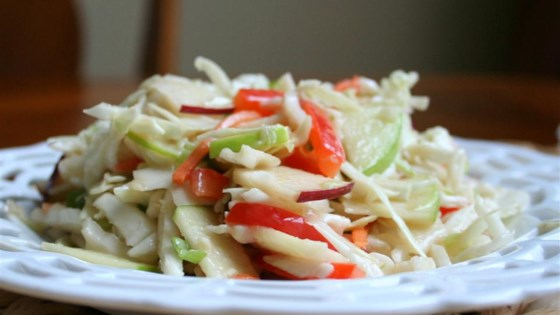Photo of Easy Apple Coleslaw by Aunt Mamie