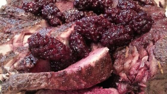 Slow Cooker Blackberry Pork Tenderloin