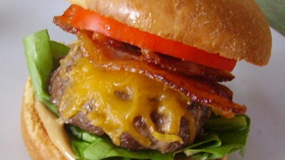Photo of Peanut Butter Bacon Burger by skootrz