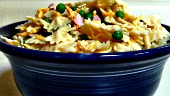 Photo of Ham and Cheese Pasta Salad by JESSEPKO