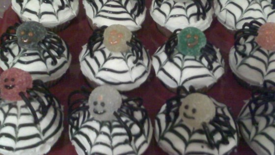 Photo of Spiced Spider Cupcakes by melakee24