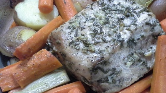 Photo of Healthier Roasted Pork Loin by MakeItHealthy
