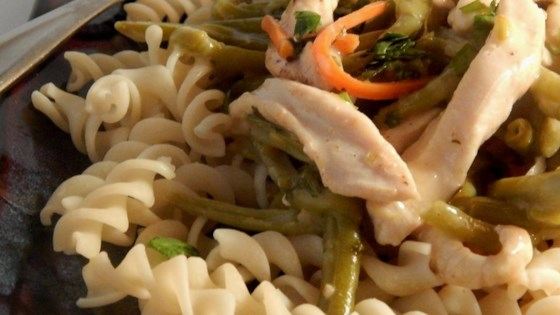 Photo of Pasta with Thai-Style Chicken by miriamel