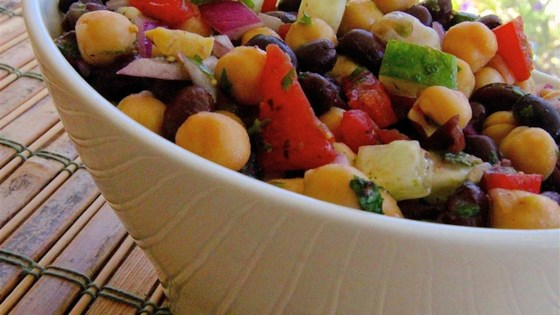 Photo of Summery Bean Salad by rhapsody112