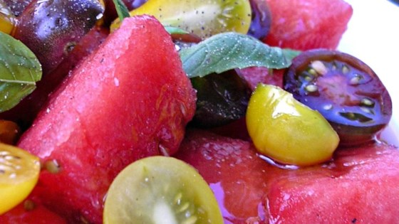 Photo of Spicy Watermelon Tomato Salad by Doug Matthews