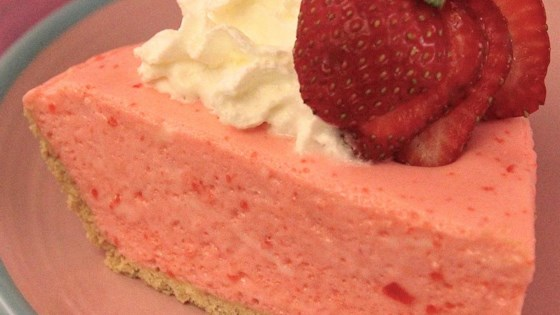 Photo of No Bake Strawberry Cheesecake by mamasguardianangel