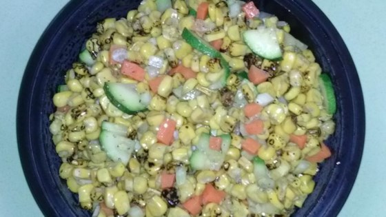 Photo of Colorful Roasted Corn Salad by scooter