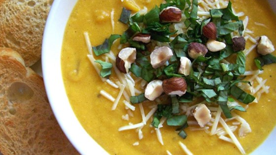 Photo of Spiced Butternut Squash Soup by LuvMyFamily