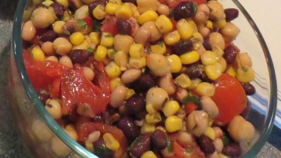Photo of Southwestern 3-Bean Salad by Prospective PhD