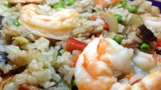 Photo of Ginger Shrimp with Fried Rice by HAYMOREEW