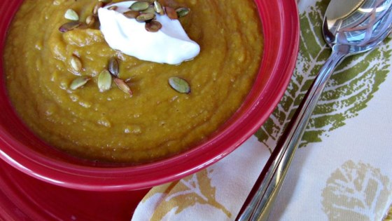 Photo of Pumpkin and Split Pea Soup by CORWYNN DARKHOLME