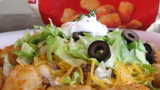 Photo of Tater Tot Taco Salad by Eleanor  Mielke