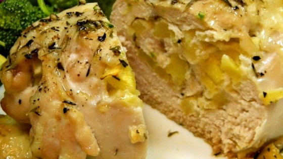Photo of Apple and Cheddar Stuffed Chicken by Erin Vaughn