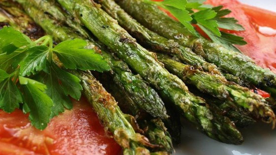 Photo of Grilled Parmesan Asparagus by heather_banzhaf