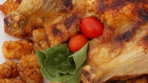 Photo of Roast Chicken with Curry Paste by Nadine